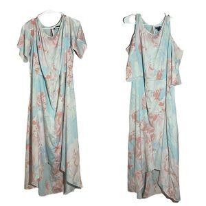 Roaman's Dress Pastel Floral size 24w